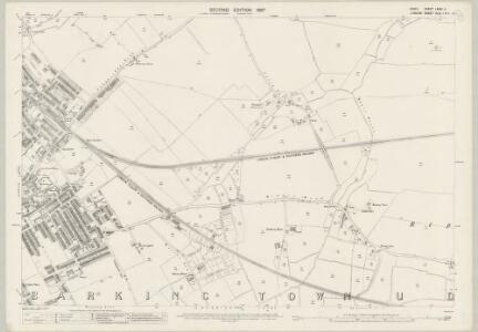 Essex (1st Ed/Rev 1862-96) LXXIV.9 (includes: Barking) - 25 Inch Map