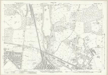 Glamorgan XLIII.7 (includes: Cardiff; Llanedern) - 25 Inch Map