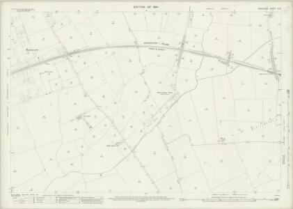 Middlesex X.10 (includes: Harrow; Ruislip) - 25 Inch Map