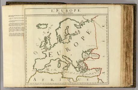 L'Europe, confins.