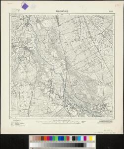 Messtischblatt 1448 : Wardenburg, 1925 Wardenburg