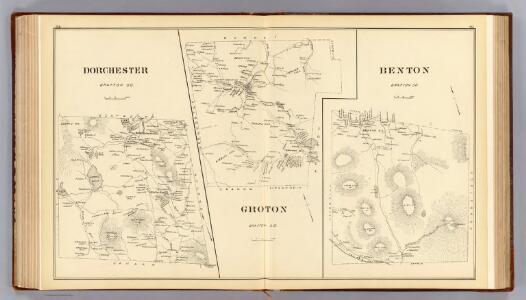 Dorchester, Groton, Benton.