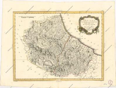 Abruzzo Ulteriore e Citeriore tratta dalle carte del Sig. Rizzi Zannoni.