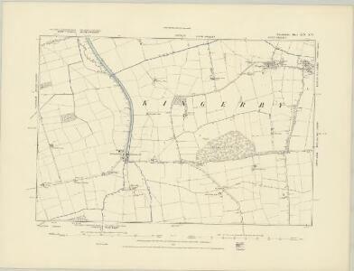 Lincolnshire XLV.SE - OS Six-Inch Map