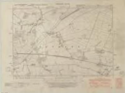 Nottinghamshire I.SW - OS Six-Inch Map