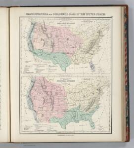 Gray's Botanical and Zoological Maps of the United States.