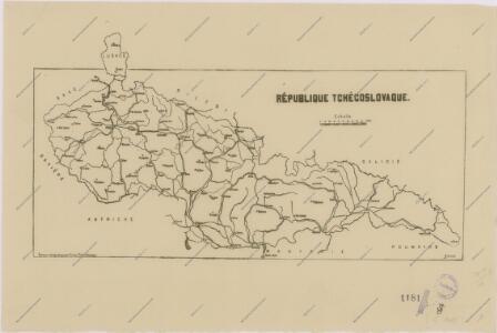 Sbírka map a diagramů použitých na mírových konferencích v Paříži v letech 1919 - 1920