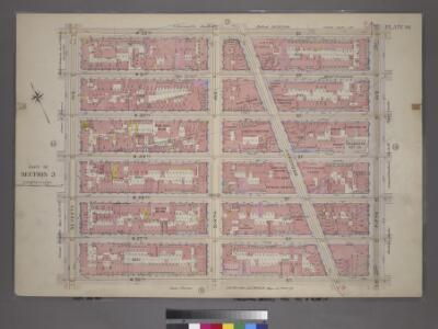 Plate 14, Part of Section 3: [Bounded by W. 32nd Street, Fifth Avenue, W. 26th Street and Seventh Avenue.]
