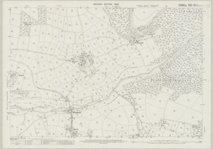 Cornwall XXIII.6 (includes: Dunterton; Lezant; Stoke Climsland) - 25 Inch Map
