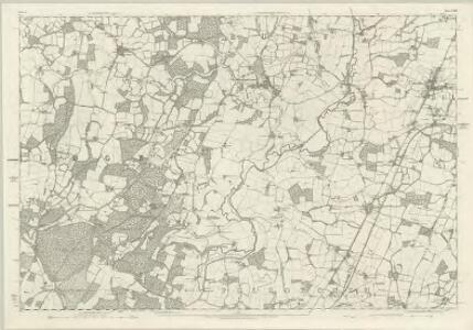 Sussex XXIII - OS Six-Inch Map
