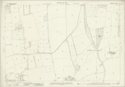 Berkshire V.14 (includes: Draycot Moor; Kingston Bagpuize; Longworth; Standlake) - 25 Inch Map