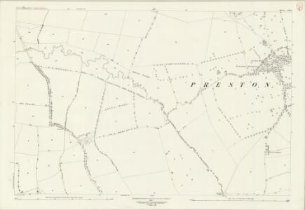 Northamptonshire LII.6 (includes: Courteenhall; Hackleton; Quinton; Wootton) - 25 Inch Map