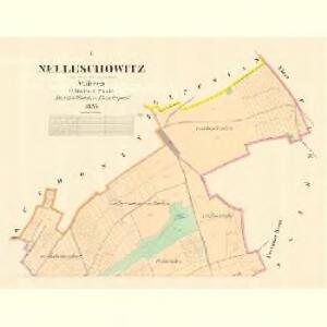 Nelleschowitz - m1949-1-001 - Kaiserpflichtexemplar der Landkarten des stabilen Katasters