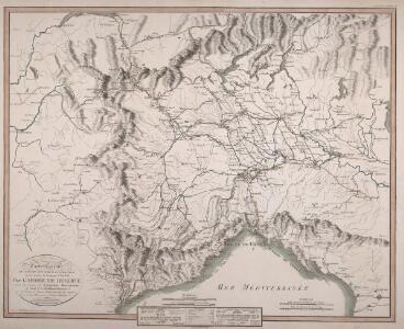Carte Générale des Marches, Mouvemens et Opérations executés pendant la Campagne des l'an VIII