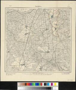 Meßtischblatt 2172 : Stackelitz, 1919