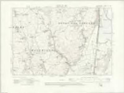 Lancashire XI.SE - OS Six-Inch Map