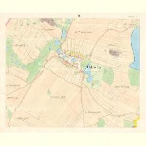 Ihlawka - m1102-1-002 - Kaiserpflichtexemplar der Landkarten des stabilen Katasters
