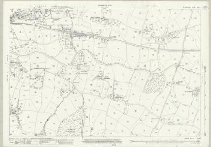 Devon XLV.8 (includes: Halberton; Tiverton) - 25 Inch Map
