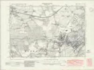 Kent XLII.NW - OS Six-Inch Map