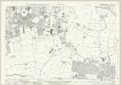 Lancashire CXI.9 (includes: Manchester; Sale) - 25 Inch Map