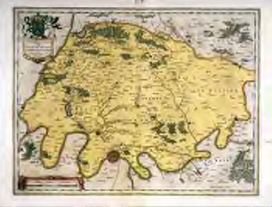 Ager Parisiensis vulgo l'Isle de France