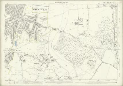 Kent II.11 (includes: Borough Of Woolwich) - 25 Inch Map