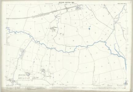 Essex (1st Ed/Rev 1862-96) XXXIII.2 (includes: Barnston; Felsted; Great Waltham; Little Dunmow) - 25 Inch Map