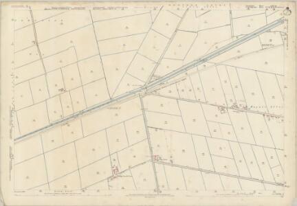 Lincolnshire CLIV.10 (includes: Parson Drove; Sutton St Edmund; Wisbech St Mary) - 25 Inch Map
