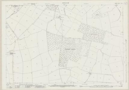 Durham XLVIII.1 (includes: Bolam; Etherley; Evenwood And Barony; Hilton) - 25 Inch Map