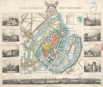 Plan af Kjöbenhavn med Forstaeder