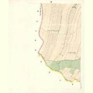 Petrowitz (Pustěgowo) - m2489-1-003 - Kaiserpflichtexemplar der Landkarten des stabilen Katasters