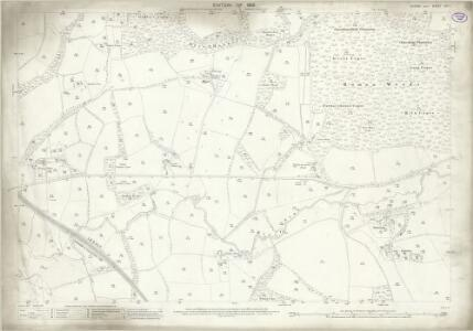 Sussex XIII.1 (includes: Rudgwick; Slinfold) - 25 Inch Map