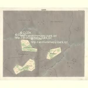 Ostrawitz - m2189-1-035 - Kaiserpflichtexemplar der Landkarten des stabilen Katasters