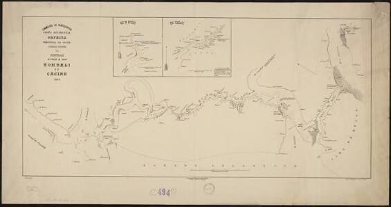 Costa Occidental d'Africa, Provincia da Guiné. Esboço rapido da communicaçao entre o rio Tombali eo Cacine