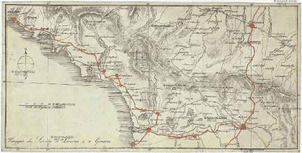Viaggio da Firenze a Livorno e a Genova