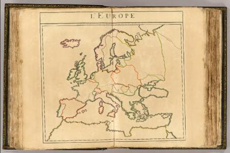 L'Europe (vents - outline)