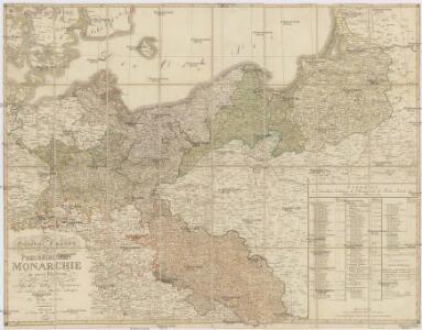 Generale-Charte der Preussischen Monarchie in zwey Blättern