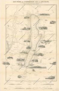 Karte vom Starnberger See