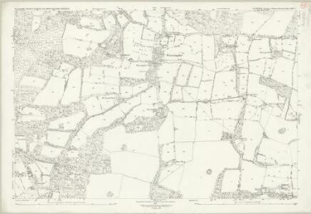 Sussex XXV.7 (includes: Bolney; Slaugham) - 25 Inch Map