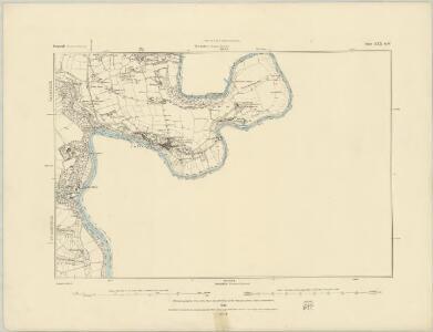 Cornwall XXIX.NE - OS Six-Inch Map