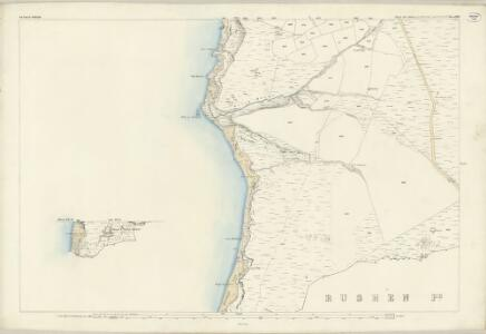 Isle of Man XII.9 & 13 - 25 Inch Map