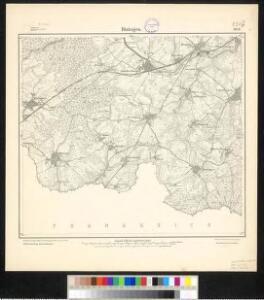 Meßtischblatt 3613 : Rixingen, 1917