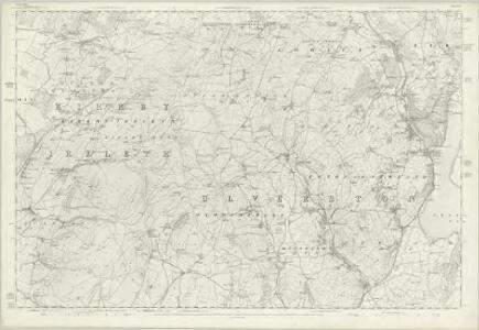 Lancashire XI - OS Six-Inch Map