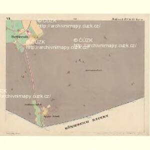 Deffernik - c1075-1-006 - Kaiserpflichtexemplar der Landkarten des stabilen Katasters