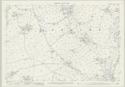 Cornwall LXXVI.5 (includes: Breage; Helston; Sithney; Wendron) - 25 Inch Map