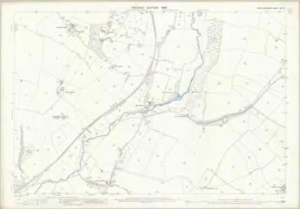 Hertfordshire XXX.3 (includes: Much Hadham; Ware Rural; Widford) - 25 Inch Map