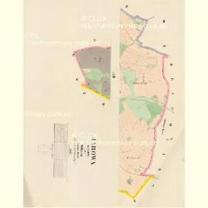 Jarowa (Garow) - c2781-1-002 - Kaiserpflichtexemplar der Landkarten des stabilen Katasters