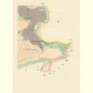 Lhotka - c3954-1-003 - Kaiserpflichtexemplar der Landkarten des stabilen Katasters