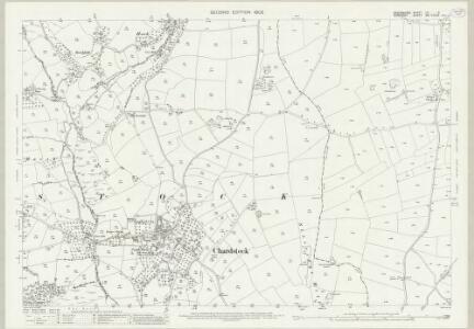 Devon LX.6 (includes: Chard; Chardstock) - 25 Inch Map