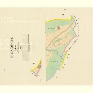 Bojanowitz - c0331-1-003 - Kaiserpflichtexemplar der Landkarten des stabilen Katasters